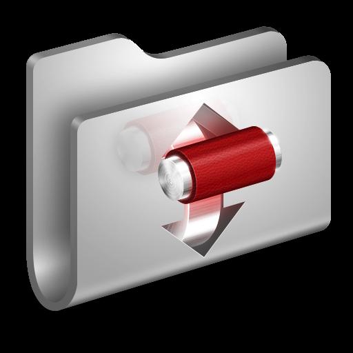 3D Torrents Folder White Icon, PNG ClipArt Image | IconBug.com