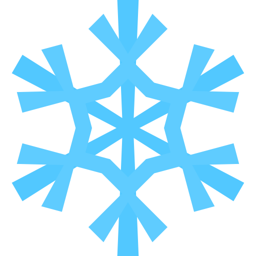 Simple Christmas Snowflake Icon Png Clipart Image
