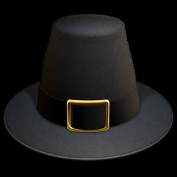 Thanksgiving Pilgrim Hat Icon, PNG ClipArt Image | IconBug.com