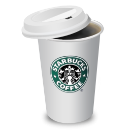 Starbucks Coffee Icon PNG ClipArt Image