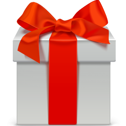 white christmas gift icon png clipart image iconbug com iconbug com