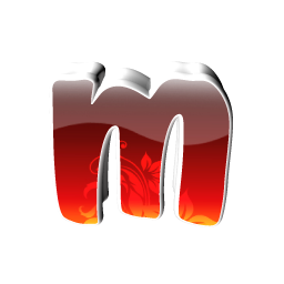 Red Small M Icon Png Clipart Image Iconbug Com