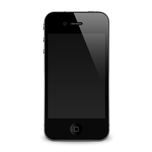 Apple Iphone With Shadow Icon Png Clipart Image Iconbug Com