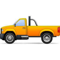 Yellow Pickup Truck Icon, PNG ClipArt Image | IconBug.com