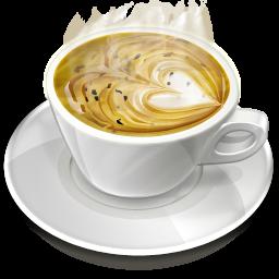 Creamy Heart Coffee Icon Png Clipart Image Iconbug Com