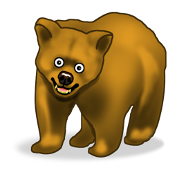 Funny Bear Icon Png Clipart Image Iconbug Com