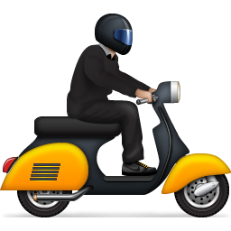 Yellow Scooter Icon Png Clipart Image Iconbug Com