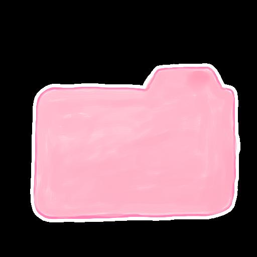 Pink Folder Icon  PNG ...