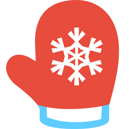 Simple Christmas Mitten Icon, PNG ClipArt Image | IconBug.com