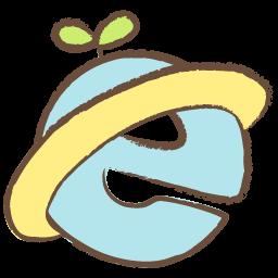 Internet Explorer Drawing Icon Png Clipart Image Iconbug Com