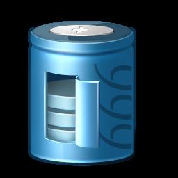 Blue 3d Battery Icon Png Clipart Image Iconbug Com