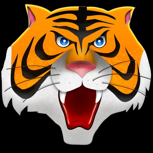 free clip art tiger head - photo #45
