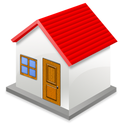 House With Red Roof Icon Png Clipart Image Iconbug Com