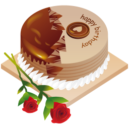 Happy Birthday Cake Icon Png Clipart Image Iconbug Com