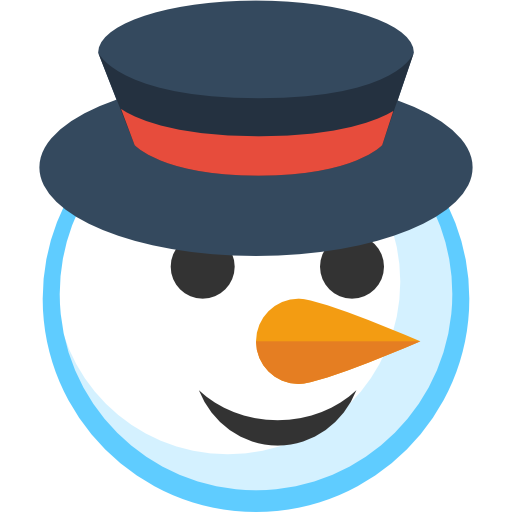 Christmas decor clipart - Simple Christmas Snowman Icon Png Clipart Image Iconbug Com