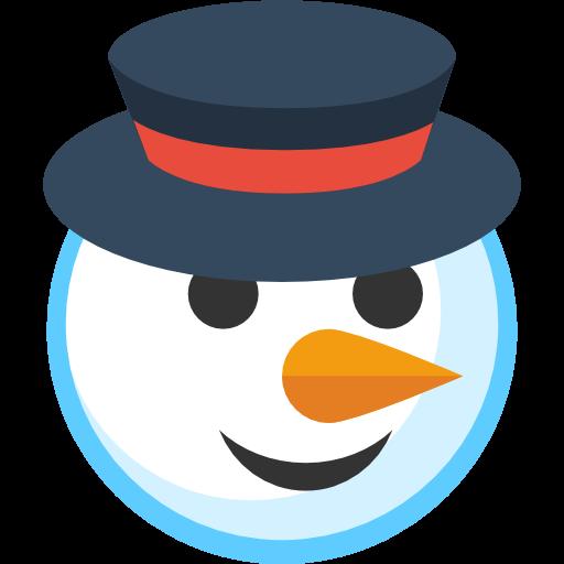 Simple Christmas Snowman Icon, PNG ClipArt Image | IconBug.com