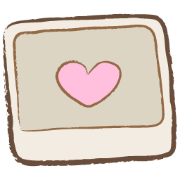 Pink Heart Photo Drawing Icon Png Clipart Image Iconbug Com