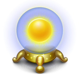 Clip Art Crystal Ball Clipart sunny weather crystal ball icon png clipart image iconbug com format png