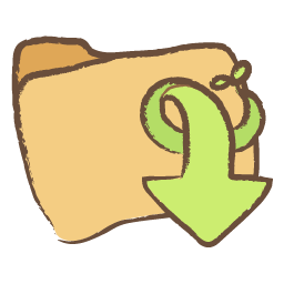 Downloads Folder Drawing Icon Png Clipart Image Iconbug Com