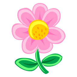 Pink flower drawing icon png clipart image iconbug format png mightylinksfo