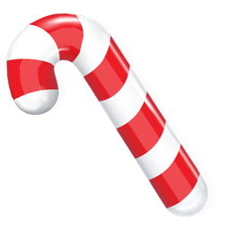 Christmas Candy Cane Icon, PNG ClipArt Image | IconBug.com