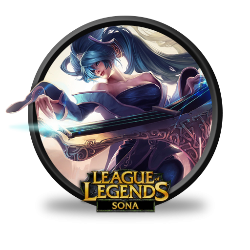 league of legends sona icon  png clipart image iconbug com snake clip art black and white snake clip art to color