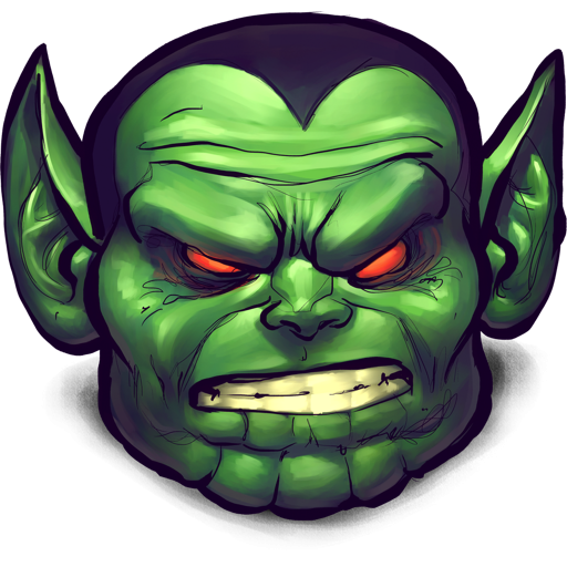 Green Monster Head Icon, PNG ClipArt Image | IconBug.com