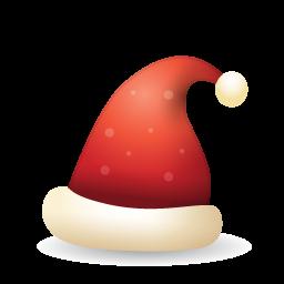 Santa Claus Hat Icon Png Clipart Image Iconbug Com