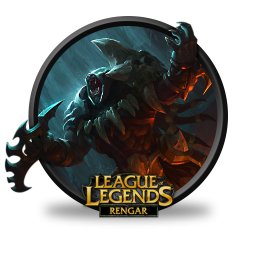 League Of Legends Rengar Headhunter Icon Png Clipart Image Iconbug Com