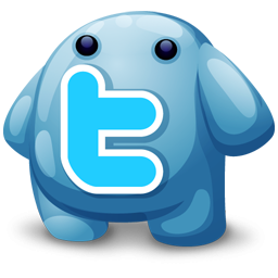Blue Twitter Monster Icon Png Clipart Image Iconbug Com