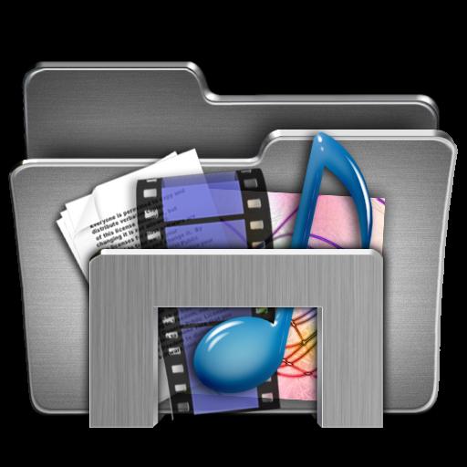 Assorted Steel Folder Icon Png Clipart Image Iconbug Com