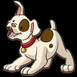 happy puppy icon png clipart image iconbug com rh iconbug com Free Cartoon Puppy Baby Puppy Clip Art
