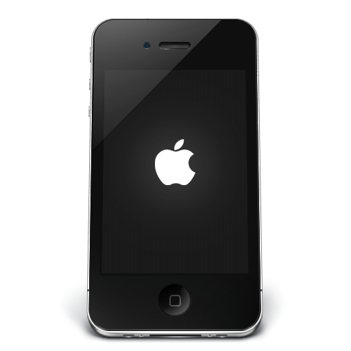 Black Apple IPhone Icon, PNG ClipArt Image | IconBug.com