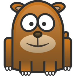 Friendly Bear Icon Png Clipart Image Iconbug Com