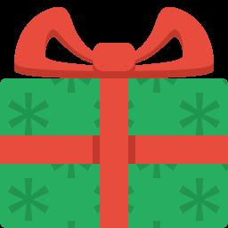 Simple Christmas Present Icon Png Clipart Image Iconbug Com