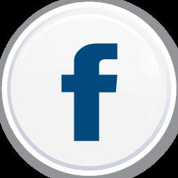 White Facebook Button Icon Png Clipart Image Iconbug Com