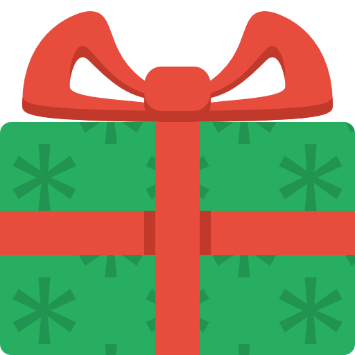 Christmas Presents Clipart.Simple Christmas Present Icon Png Clipart Image Iconbug Com