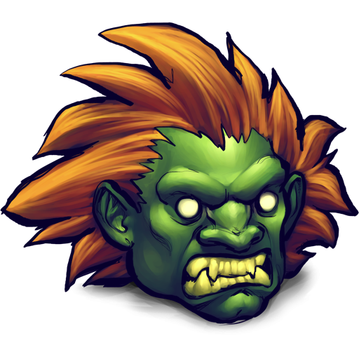 Blanka Street Fighter Icon Png Clipart Image Iconbug Com