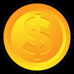 Gold Coin Money Sign Icon Png Clipart Image Iconbug Com