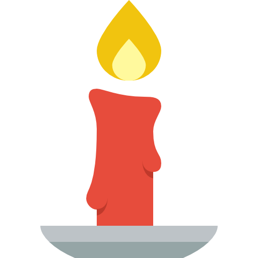 Image result for christmas candle icon