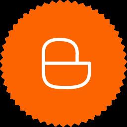 simple badge blogger icon png clipart image iconbug com