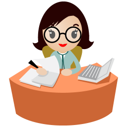 Secretary With Glasses Icon Png Clipart Image Iconbug Com