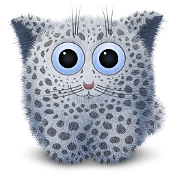 Snow Leopard Doll Icon Png Clipart Image Iconbug Com