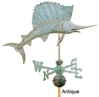 Sailfish Weathervane - Antique Icon, PNG ClipArt Image | IconBug com