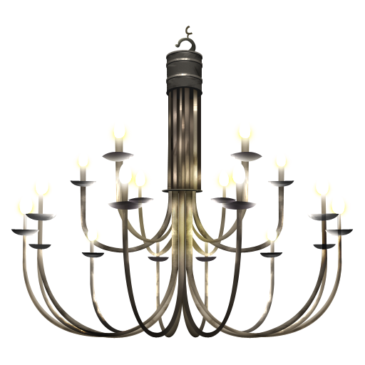 Vintage Chandelier Icon Png Clipart Image Iconbugcom