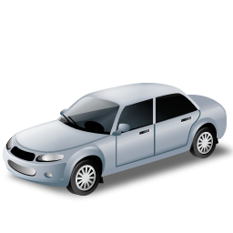 Silver Car Icon Png Clipart Image Iconbug Com