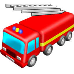 Toy Fire Truck Icon, PNG ClipArt Image   IconBug.com