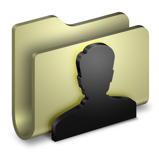3D User Folder Yellow Icon, PNG ClipArt Image | IconBug.com