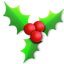 Christmas Holly Light Icon Png Clipart Image Iconbug Com