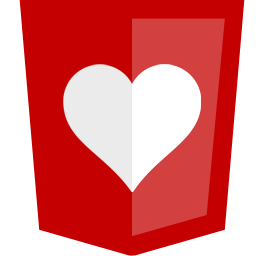 Red Shield With Heart Icon Png Clipart Image Iconbug Com